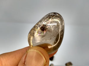 Light Smoky Quartz rainbow