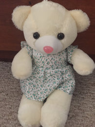 14 inch Soft Plush Stuffed Animal Teddy Bear in a skirt, plush Toy