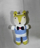 3D fox Socks Yellow