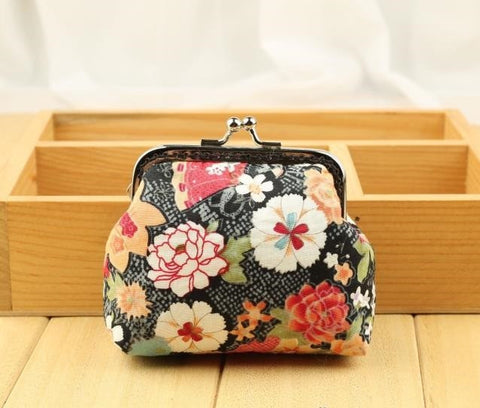 DIY Purse Sewing Kit Supply: 8.5 cm, 1-piece style, Flowers