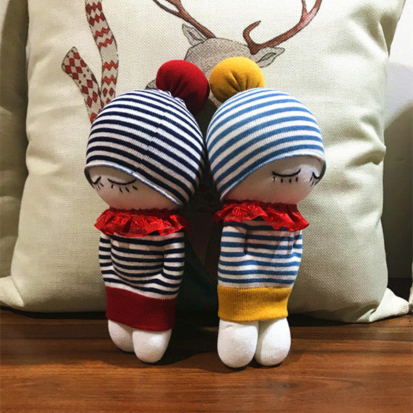 Socks Doll making kit (3-sock-style)