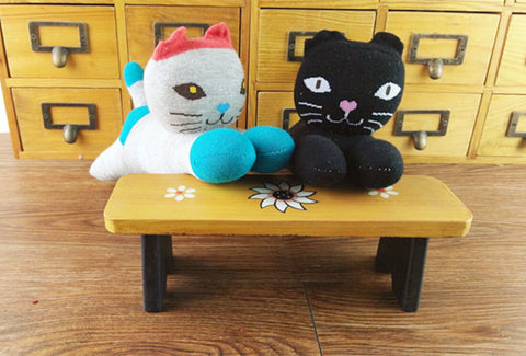 Socks Animal making kit: Black Cat