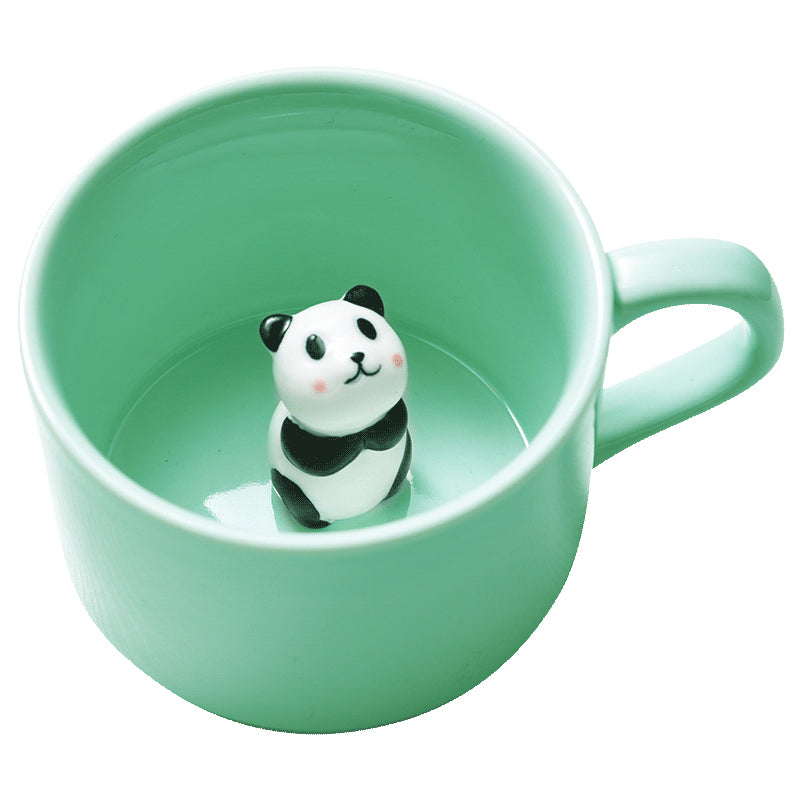 Panda 3D Cup Cute In Coffee Mug