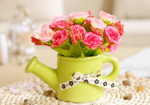 Home decor Flowers Kettle