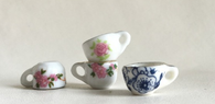 Tiny tea cup ceramic