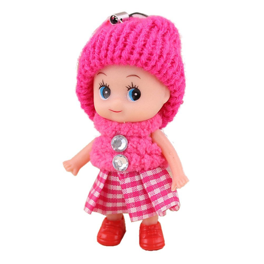 cute baby dolls keychain key ring accessories – 8 o'clock sun