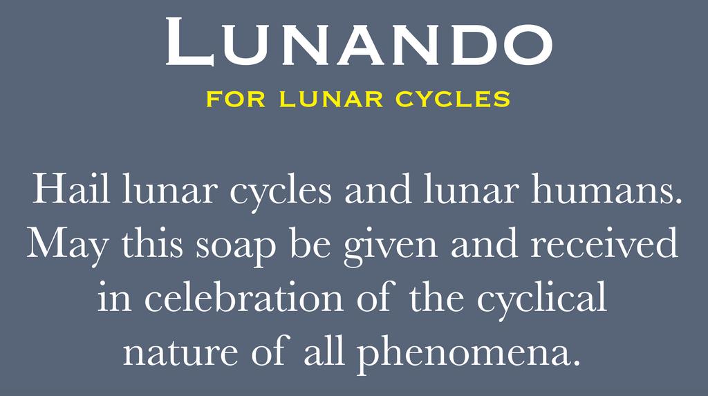 LUNANDO, for lunar cycles