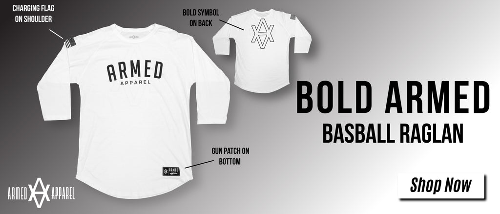 Bold Armed Apparel Baseball Raglan