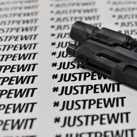 #JUSTPEWIT Decal