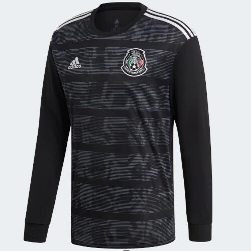 4e6ffcb04 Customized 2019 Mexico Gold Cup Home Long Sleeve Jersey