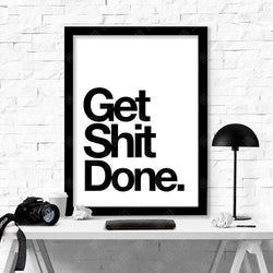 Get Shit Done Canvas