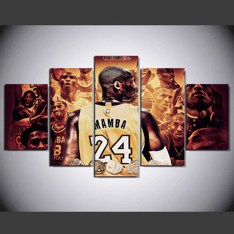 The Black Mamba Tribute Canvas