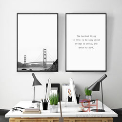 motivational canvas print
