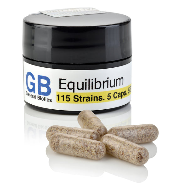Equilibrium Probiotic with Prebiotic, FREE 5-Capsule Sample