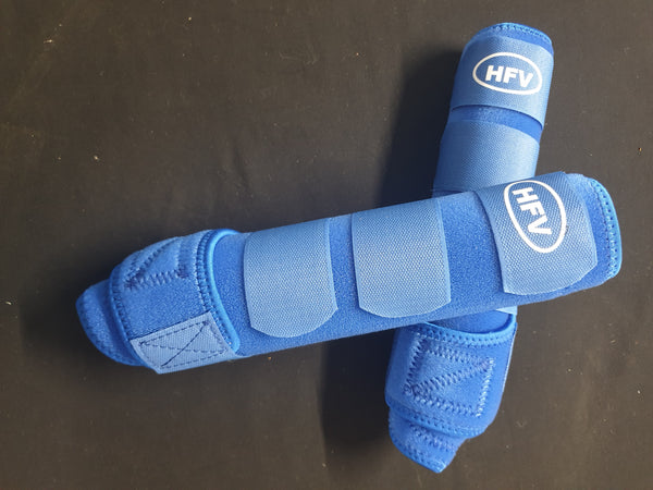 HFV Tendon Boots Plain Back Set