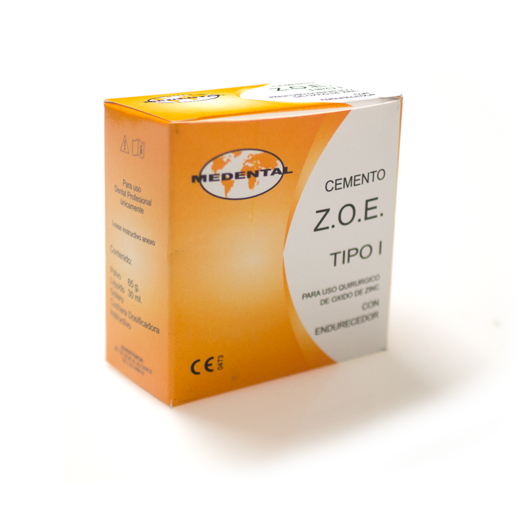 Zoe Con Endurecedor -Marca: Medental Cemento | Odontology BG