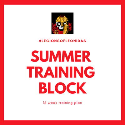 Legions of Leonidas Summer Training Block