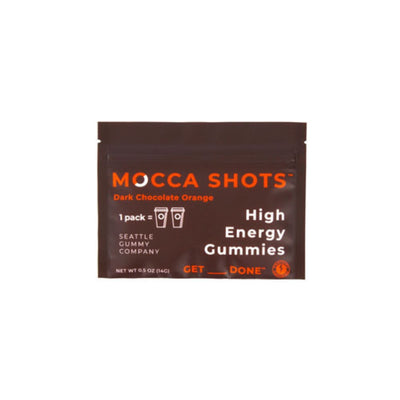 Mocca Shots High Energy Gummies (Orange)
