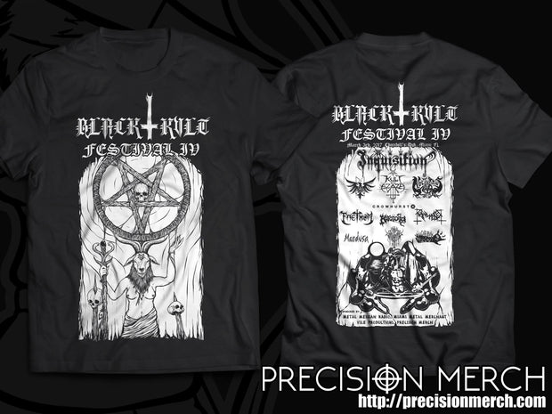 Black Kvlt Fest: IV Official Event Shirt