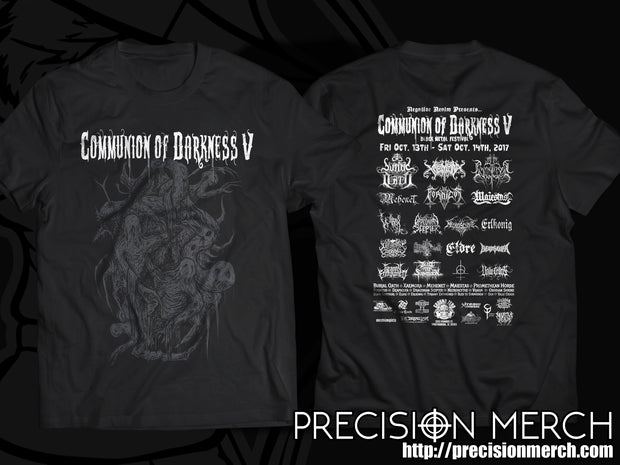 Communion of Darkness V - Official Festival Shirt