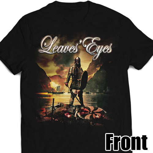 Leaves' Eyes 2017 King of Kings Tour Shirt