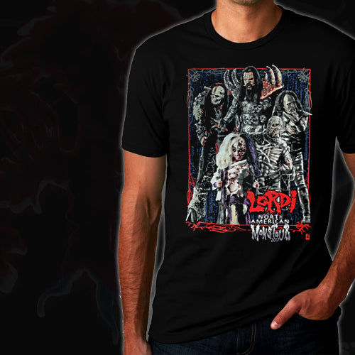LORDI - MonsTour Tour shirt