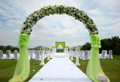 Wedding Background Wedding Ceremony Backdrop Flowers Backdrops HJ04235