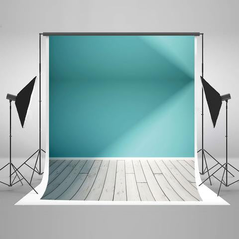 Wall Backgrounds Wood Backdrop Blue Photography Backdrops J02846