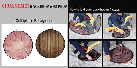 how to store collapsible backdrops