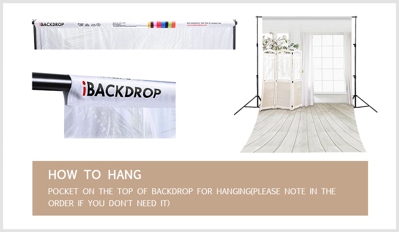 How to hang backdrops | iBACKDROP