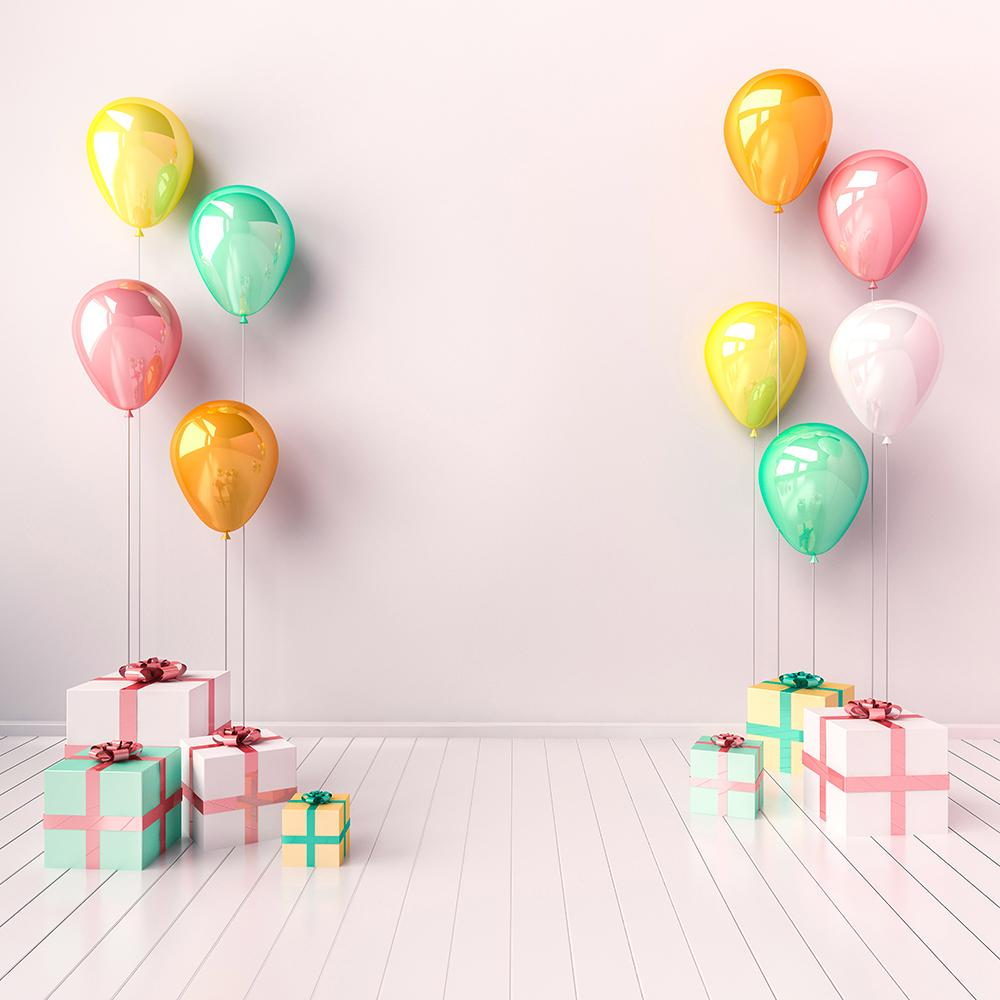 Balloon Backdrop Pink Theme Backgrounds IBD-20192 - iBACKDROP-Balloon Romantic Pink Background, custom, office, pink backdrop, pink backdrops, pink photo backdrops, pink photography backdrop, pink photography backdrops