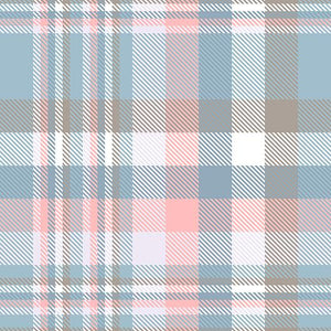 Blue Pink Taupe and White Plaid Background Pattern Backdrop IBD-19542