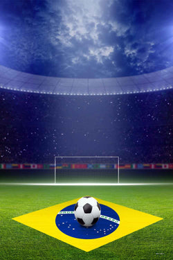 Sport Backdrops Soccer Backdrops Brazilian Flag Backgrounds