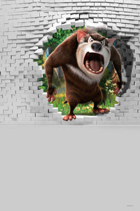 Backdrops of Film Brick Wall Backdrop Animal Background CM-S-796-E