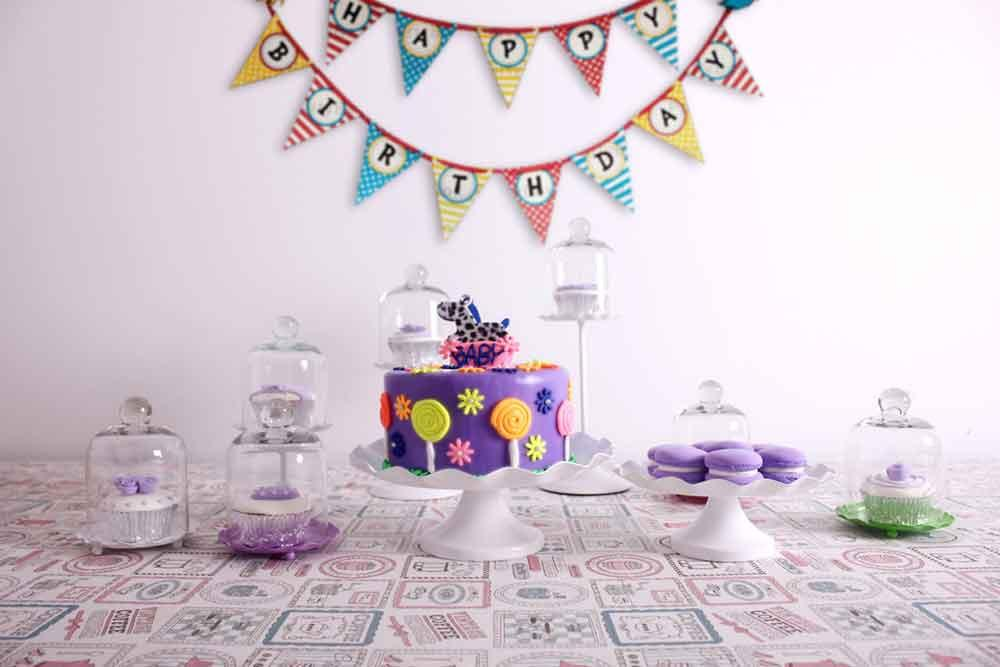 Baby Background Candy & Food Backdrops Birthday Backdrop CM-S-908-E - iBACKDROP-Baby Kid Backdrops, Birthday Backdrop, Cake Backdrop, Cake Backdrops, Cake Table Backdrops, Food Backdrops, Food Photography Backdrops