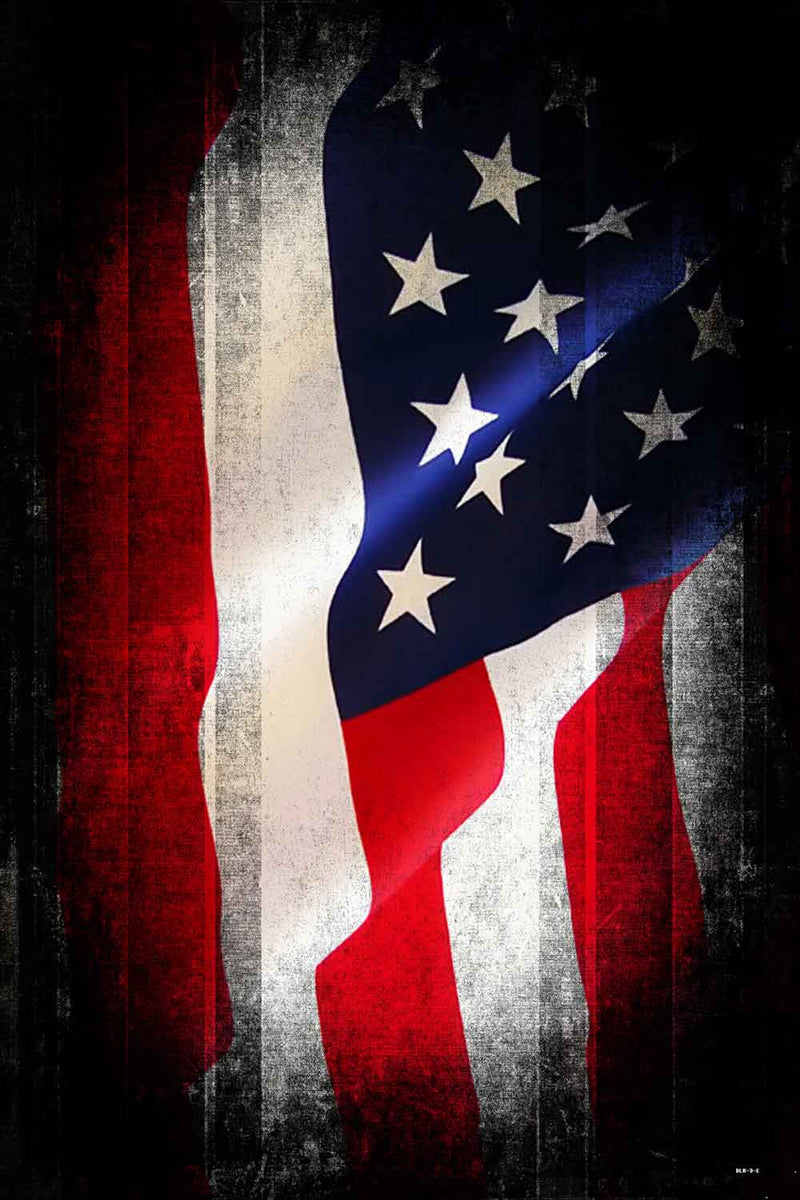 Bunting Backdrops Red And Blue American Flag Backgrounds