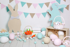 Easter Children Background Baby Shower Backdrops IBD-19281