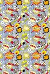 Cartoon Backdrop Polka Dot Printed Background Colored Backdrop G-002
