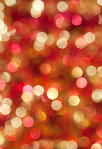 Glitter Patterned Backgrounds Red Backdrops Bokeh Backdrops G-005