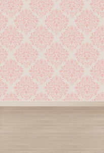 Damask Backdrop Custom Backgrounds Pink Backdrop G-012