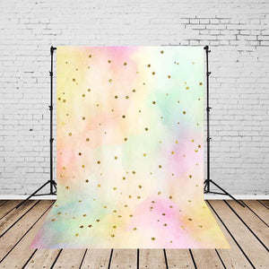 Abstract Backdrops Gradient Backdrops Pink and Yellow Background G-145
