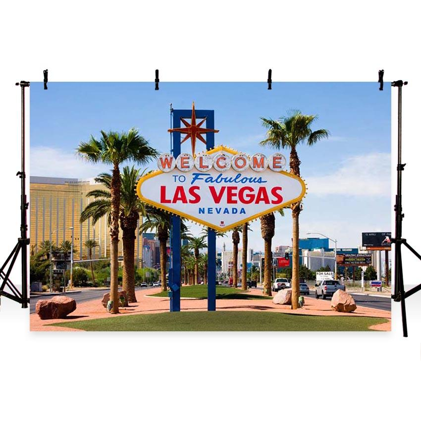 Attractions Las Vegas Backdrop G-163