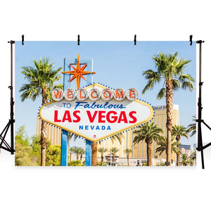 Scenic Backdrops Painting City Backdrops Las Vegas Background G-166