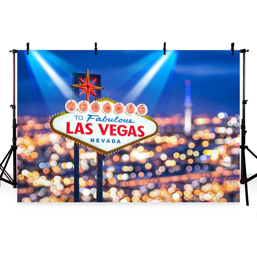 Attractions Iconic Landmarks Las Vegas Backdrops G-167