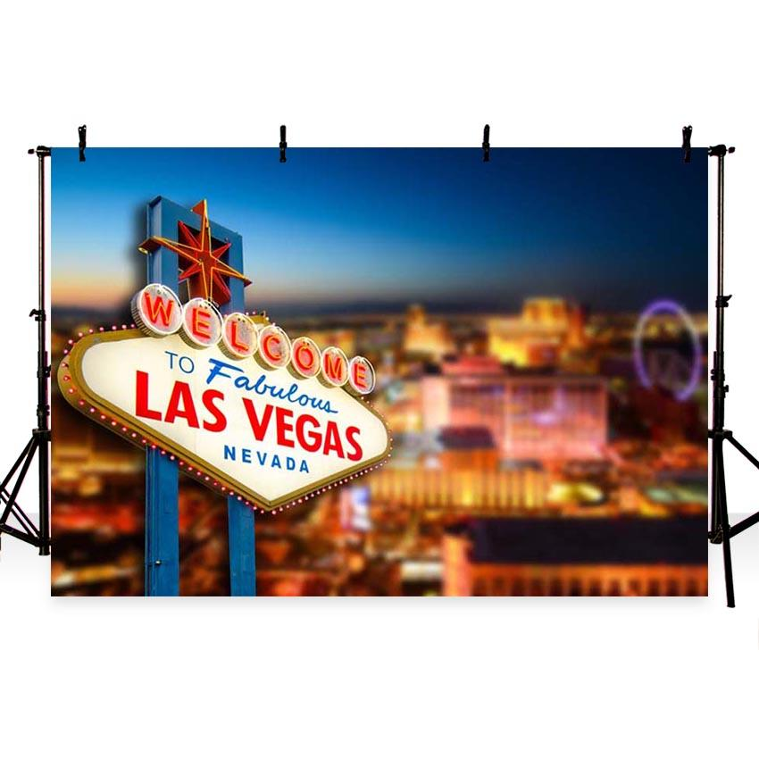 Attractions & Iconic Landmarks Backdrops Colored Eggs Las Vegas Backdrops G-174 - iBACKDROP-Attractions Backdrops, sky backdrops