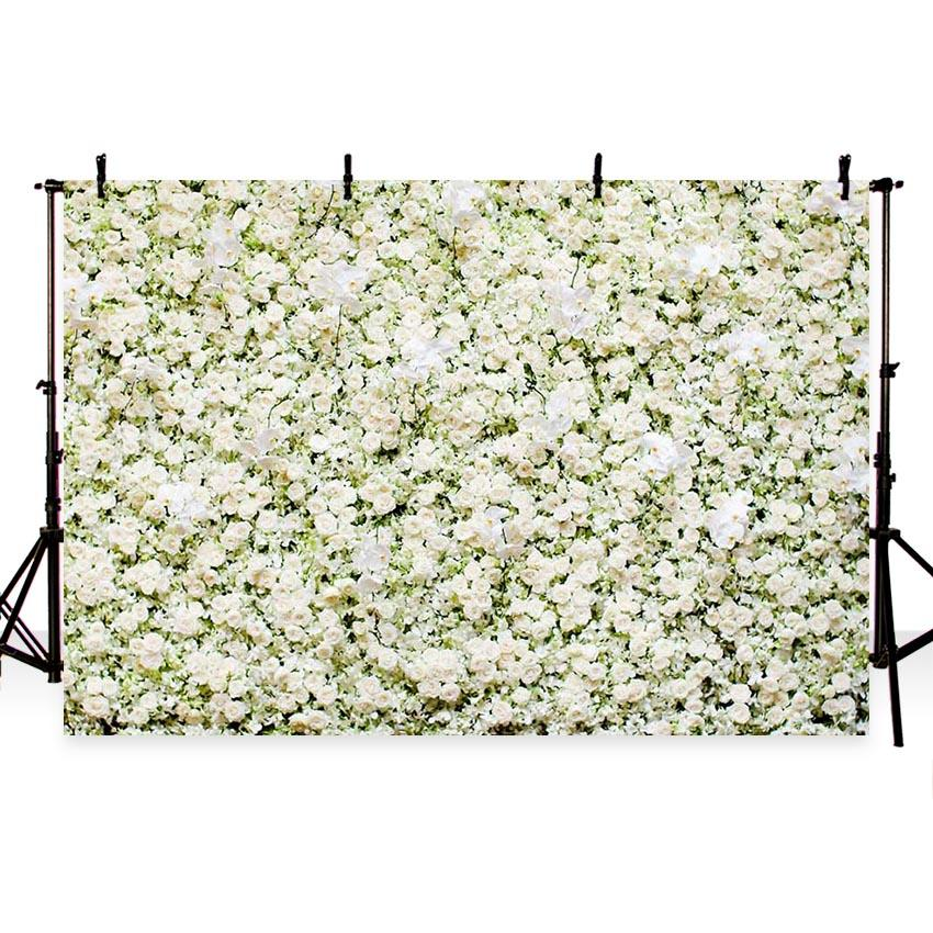 Patterned Backgrounds Flowers Backdrops White Backdrops G-182