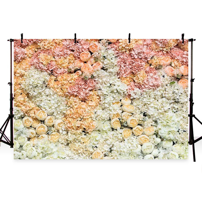 Patterned Backdrops Flower Backdrop Nature Backgrounds G-183