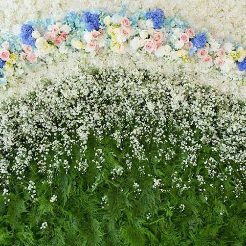 Patterned Backdrops Flower Backdrops Exhibit Backgrounds G-187