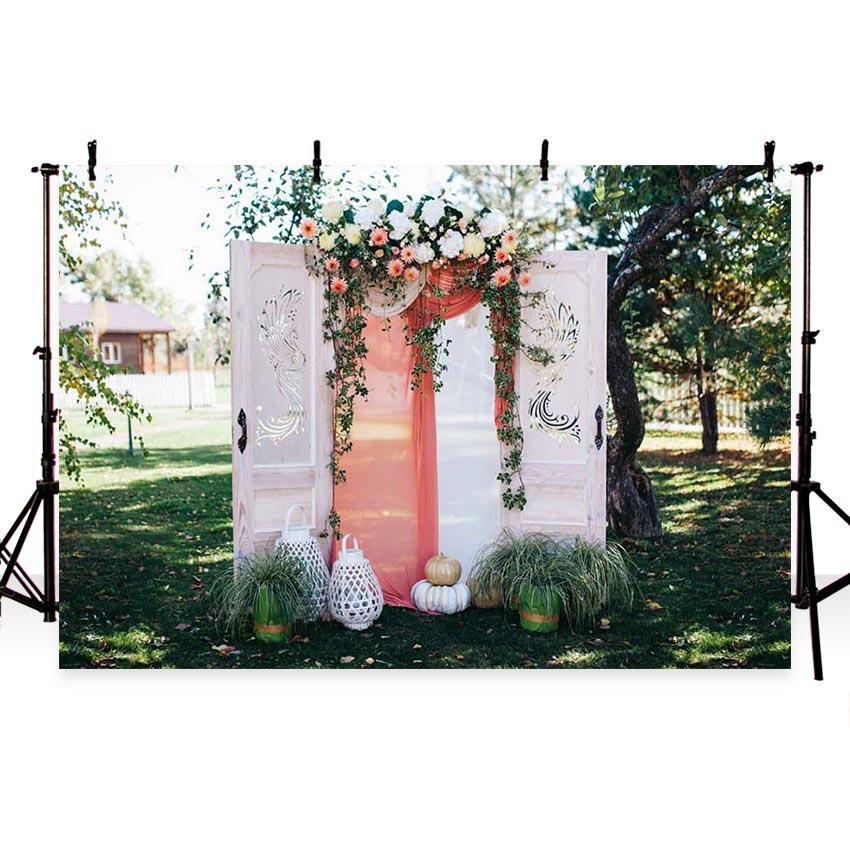 Wedding Backdrops Ceremony Background Curtain Backdrops G-202