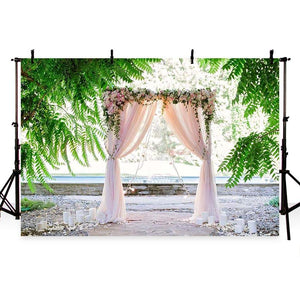 Wedding Backdrops Pink Background G-208